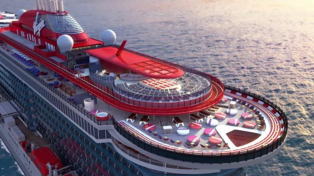 Virgin Voyages, présent son tout premier navire le Scarlet Lady